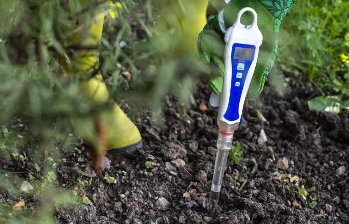 how to acidify soil pH test
