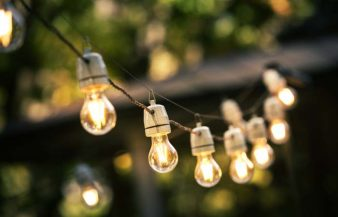 How To Hang String Lights In Backyard Without Trees