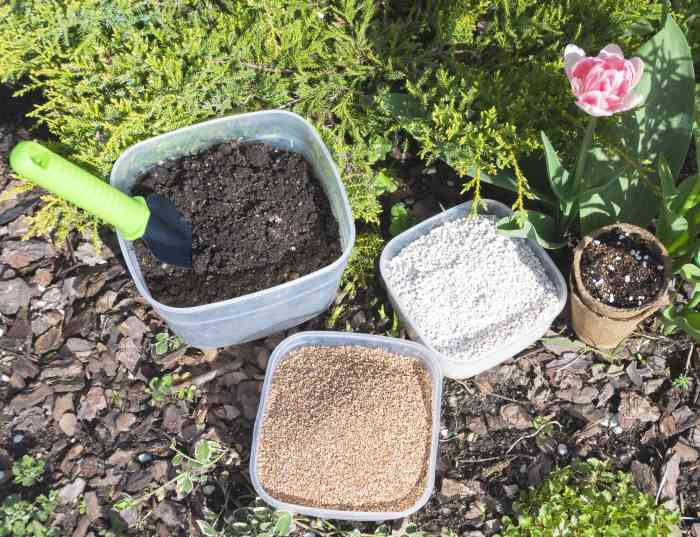 perlite vermiculite soil mix