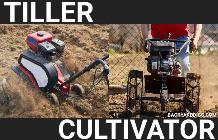 Cultivator vs Tiller