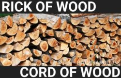What Is A Rick Of Wood? Rick vs Cord