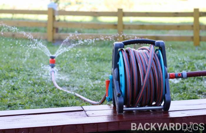 how to use a hose reel