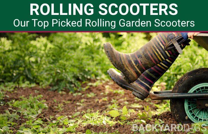Best Rolling Garden Scooter