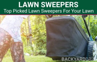 5 Best Lawn Sweepers To Push And Pull Behind